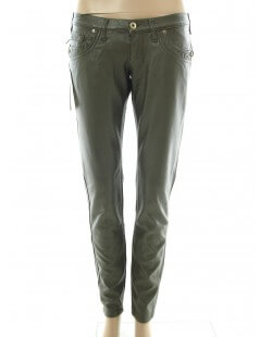 Pantaloni donna Take Two - Pantalone ecopelle