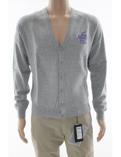 The Royal Pine Club - cardigan uomo grigio