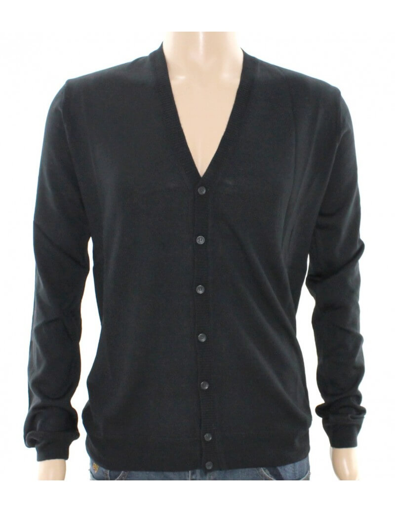 Guess Guess by Marciano cardigan uomo nero 60%