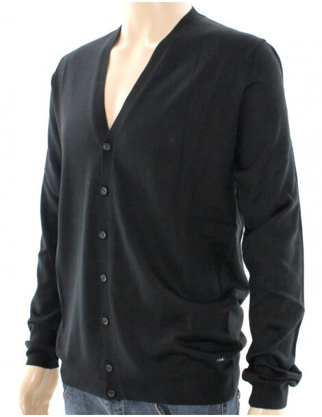 GUESS BY MARCIANO CARDIGAN UOMO NERO