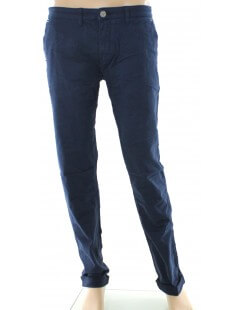 Beverly Hills Polo Club - Pantalone chino blu