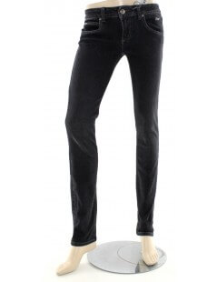 Jeans donna nero Roy Roger's - Jeans stretti