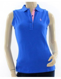 Polo donna Refrigue royal