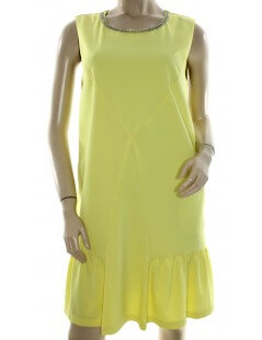 Very Simple vestito giallo