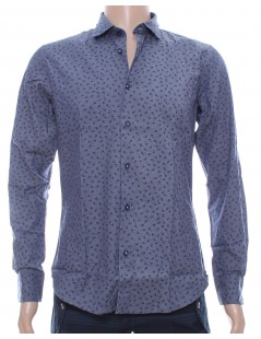 Camicia uomo blu AT.P.CO
