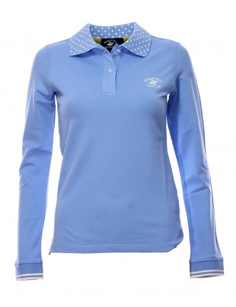 Maglia polo donna Celeste Beverly Hills Polo Club