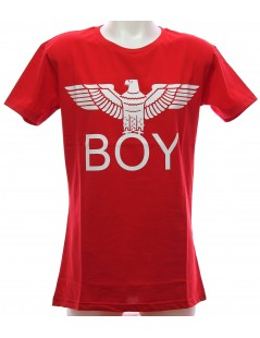 T-Shirt Rossa Maglietta Boy London