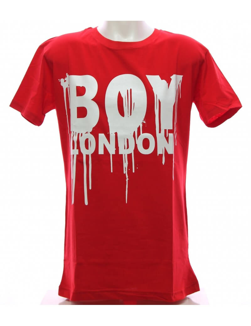 Maglietta rossa Boy London T-shirt Uomo