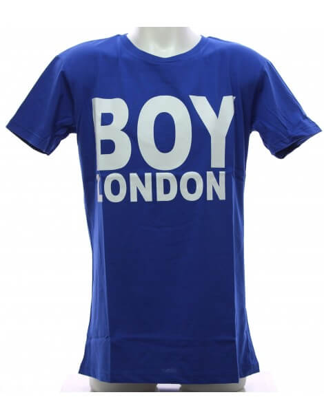 Maglietta Blu Boy London T-shirt Uomo