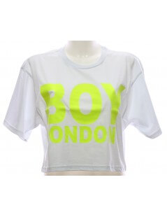 Maglietta Boy London Bianca T-shirt Donna