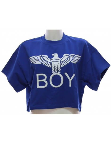 Felpa Boy London Blu Royal Felpe Donna
