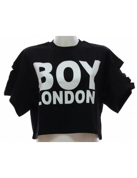 Felpa Donna Boy London Nera