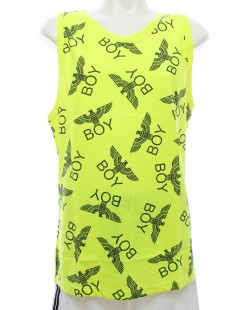 Boy London - Canotta Giallo Fluo