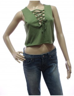 Top Crop Kontatto Verde militare