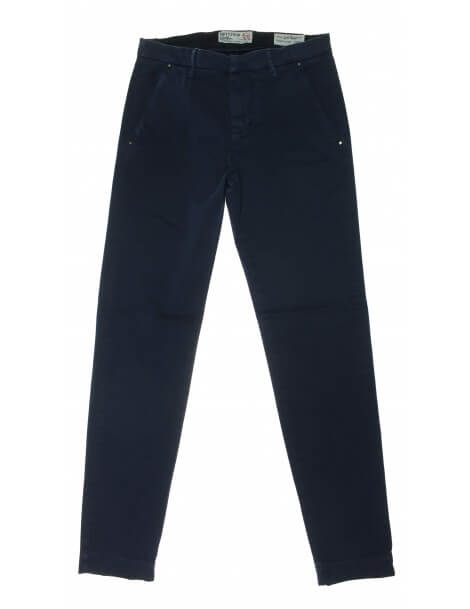 Fifty Four - Pantalone chino blu