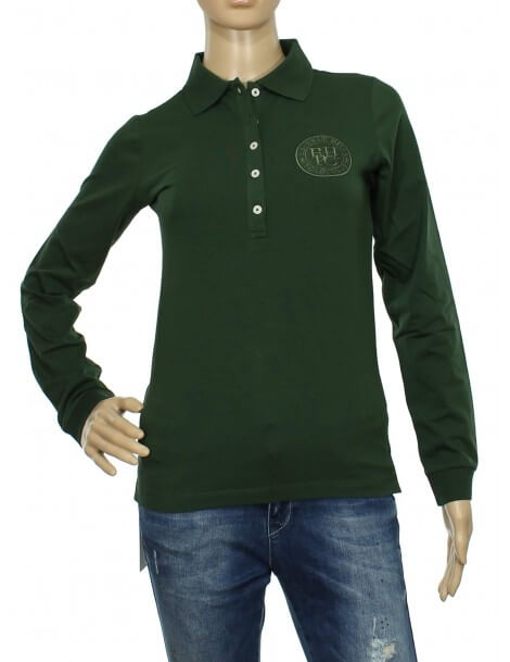 Maglia polo donna Beverly Hills Polo Club verde