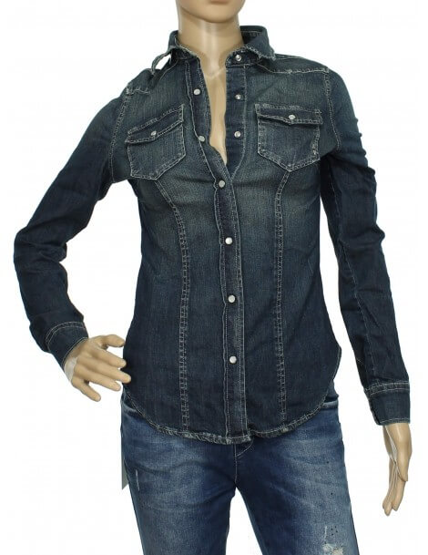 Fifty Four camicia jeans donna