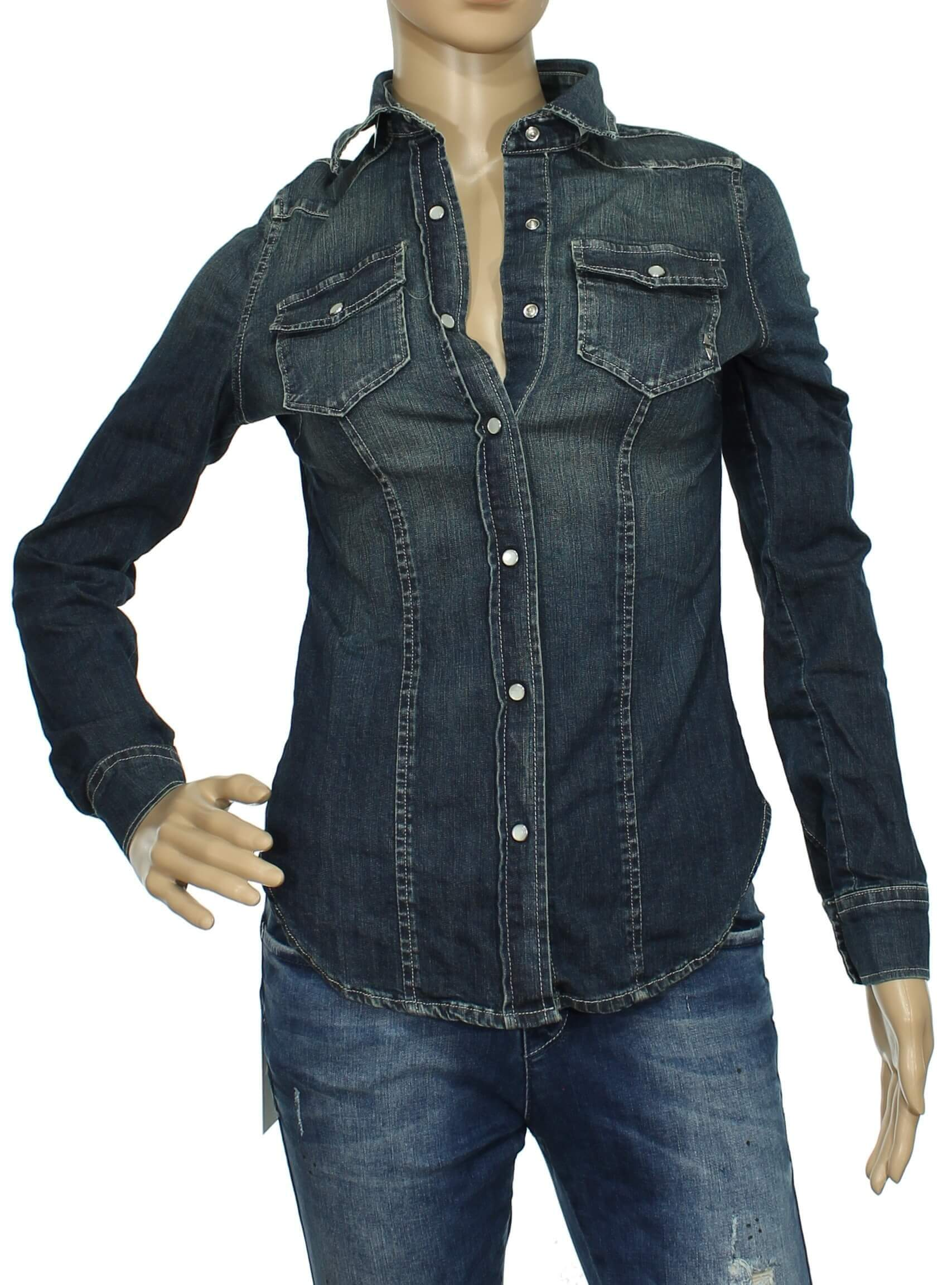 97fd2daff7 FiftyFour - Fifty Four camicia jeans donna