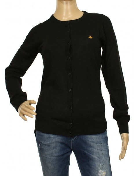 Beverly Hills Polo Club - Cardigan donna nero