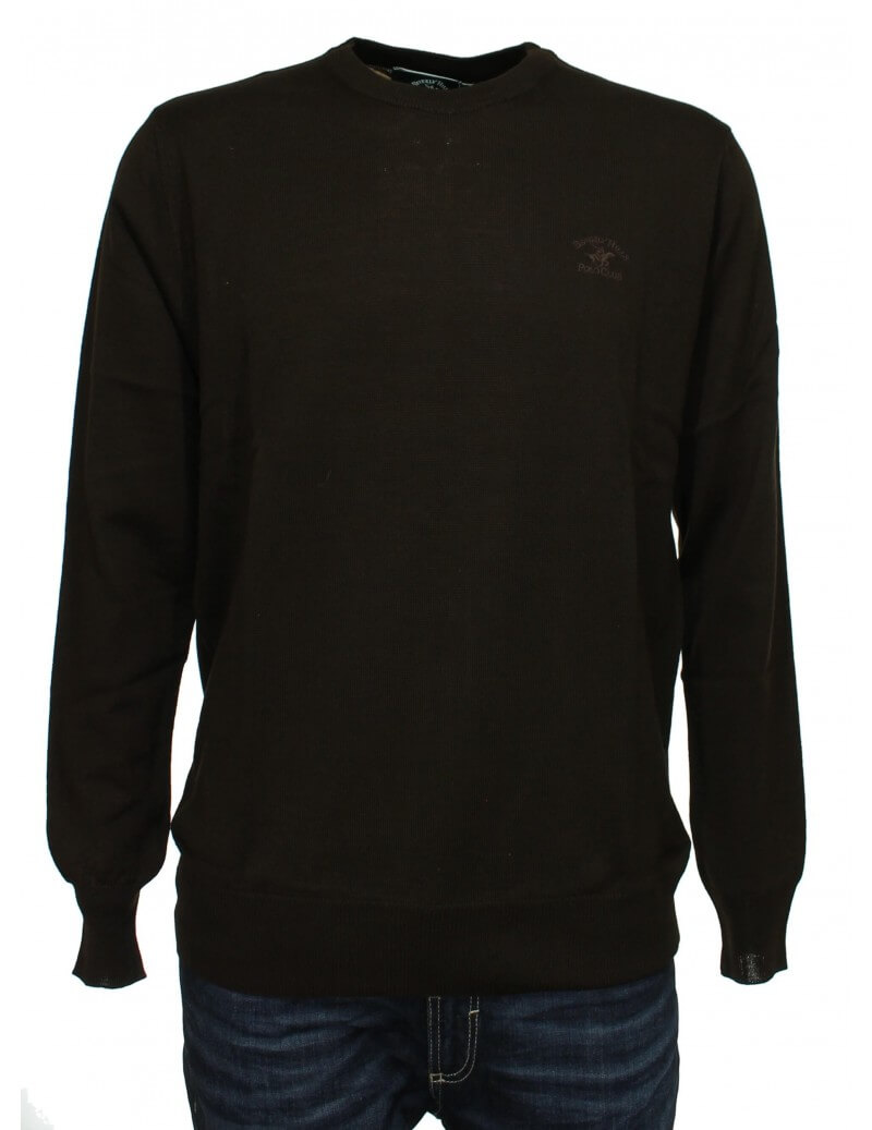Beverly Hills - Pullover uomo marrone