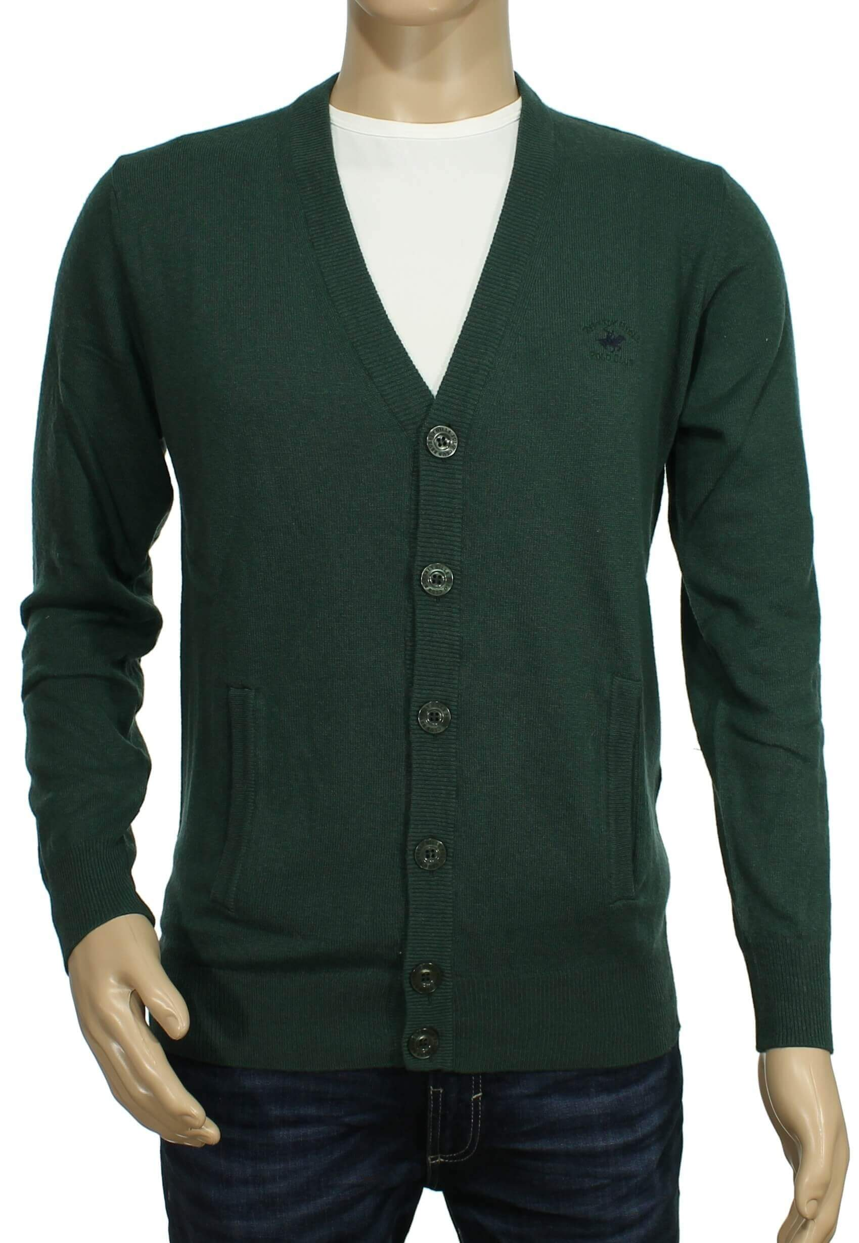 Beverly Hills Polo Club - Beverly Hills Polo Club - Cardigan con bo... 921b5d44e97