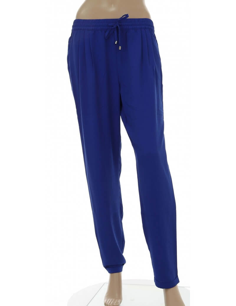 Molly Bracken - Pantalone donna coulisse in vita royal