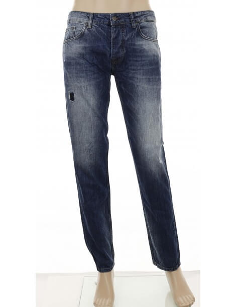 Jeans regular slim fit uomo Dooa