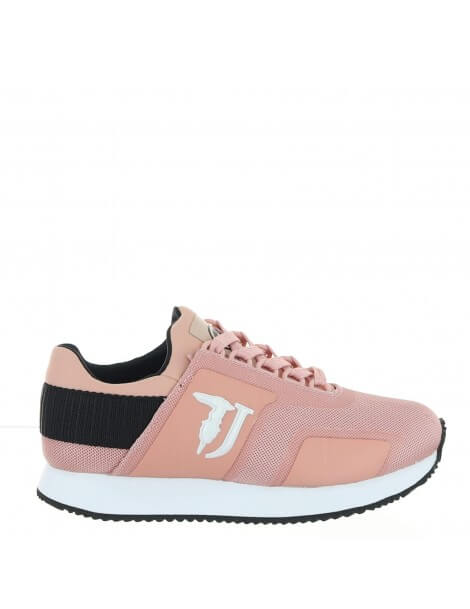 Trussardi Jeans sneakers donna rosa