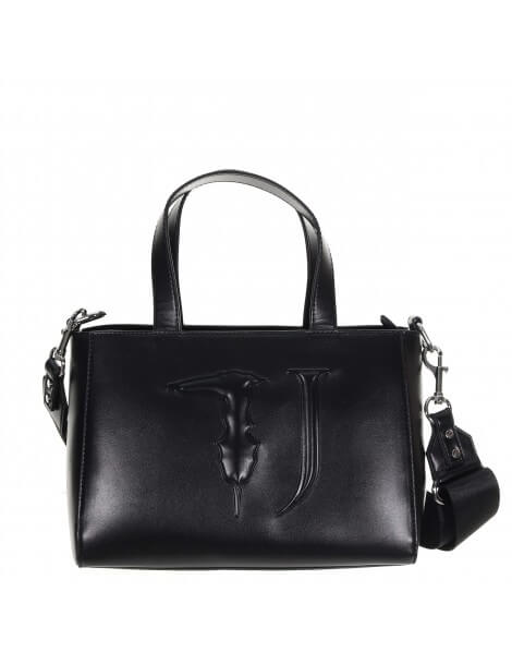 Trussardi jeans Easy Tote Md nera