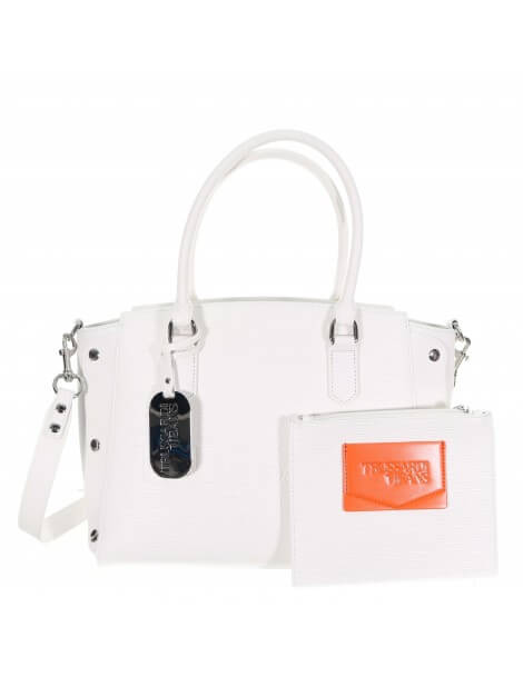 Trussardi jeans Melly Tote bianco