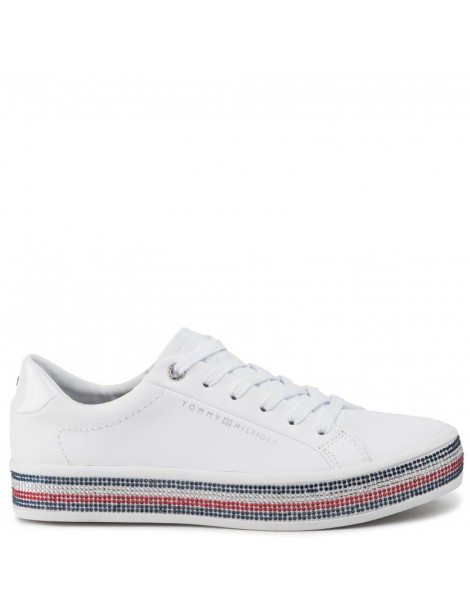 Sneakers donna bianca...