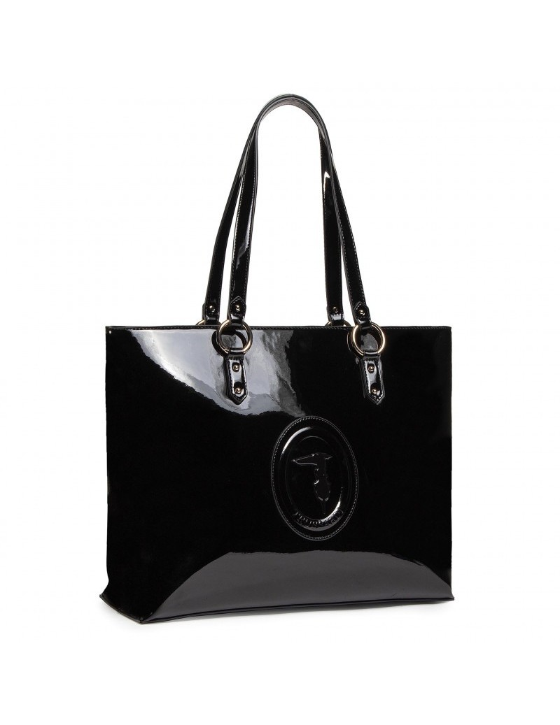 Borsa Shopper Large Vernice...